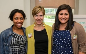 2013 Pensby Interns Lauren Footman and Alexis De La Rosa with Pensby Center Director Vanessa Christmas