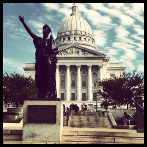 Greetings from Madison, WI!