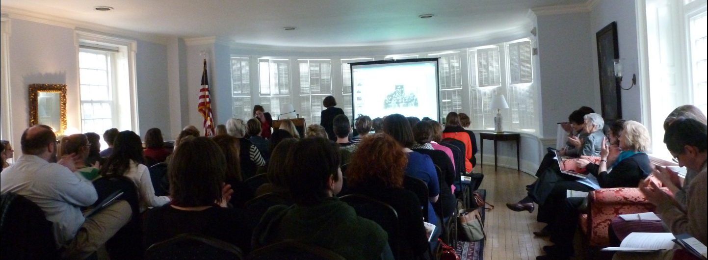Opening keynote, Women's History in a Digital World, 2013 at Bryn Mawr College.