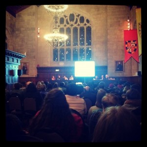 Bryn Mawr College Teach-In on Race, Higher Education, and Responsibilities, November 2014.