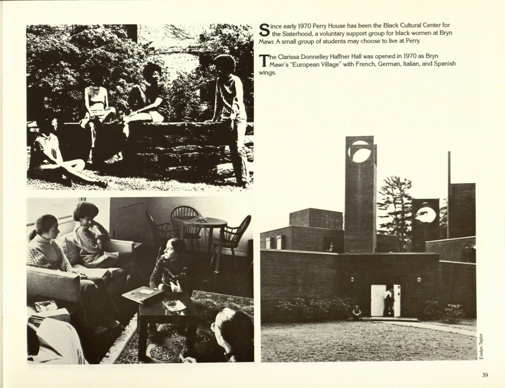 Bryn Mawr College brochure, 1985. See the complete document here.